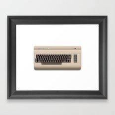 Pixel 64 Framed Art Print