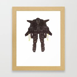 Thrusterman Framed Art Print