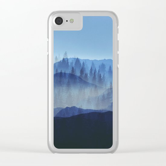 Woods Glory PQ Clear iPhone Case