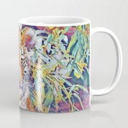 Tiger Cub Pop Art Coffee Mug