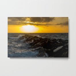 Redondo Beach Sunset Metal Print