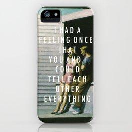Summer Weekend iPhone Case