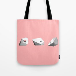 Transformations on a Cube in Pink Tote Bag