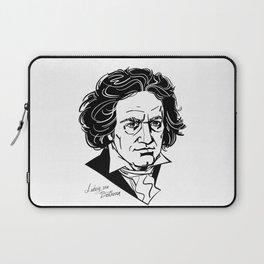 Ludwig van Beethoven Laptop Sleeve