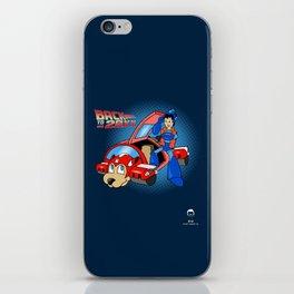 'Back to 20XX' (Mega Man / 'Back to the Future' parody) iPhone Skin
