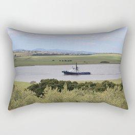 Tug -Tamar River -Tasmania* Rectangular Pillow