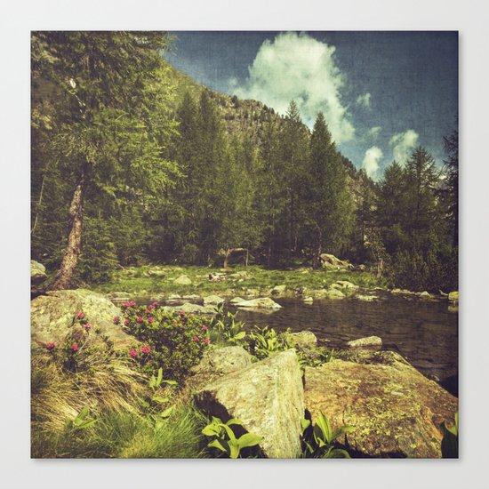 Alpine Idyll Canvas Print