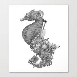 Mermaid's Treasures Canvas Print