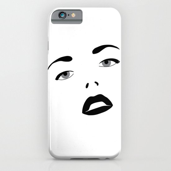 Glamour Girl iPhone & iPod Case