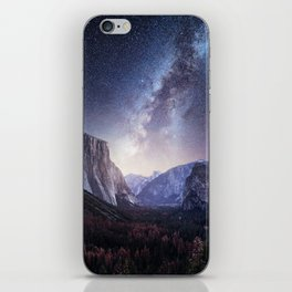 Yosemite Valley Milky Way iPhone Skin