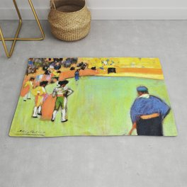 Pablo Picasso - Bullfight, Barcelona - Digital Remastered Edition Rug
