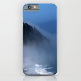 Lighthouse in the Fog iPhone Case