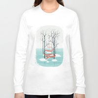 spirit Long Sleeve T-shirts featuring Forest Spirit by Freeminds