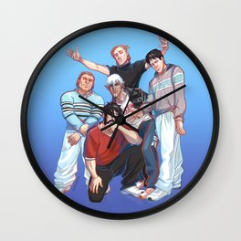 Kirkwall Boys Wall Clock