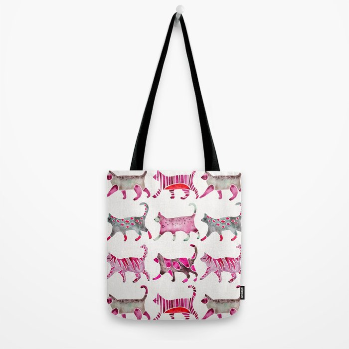 Cat Collection – Magenta Palette Tote Bag