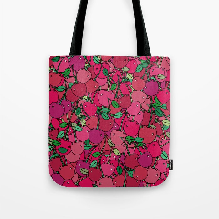 Cherry Mix Tote Bag