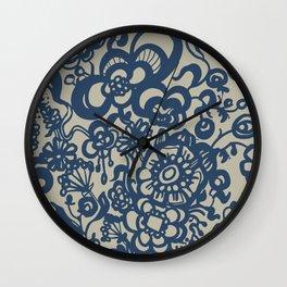 Vintage Ceramics Wall Clock
