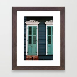 New Orleans Creole Cottage Framed Art Print