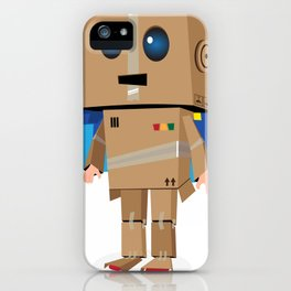 I'm gonna be a ROBOT! iPhone Case