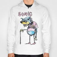 sonic Hoodies featuring sonic youth by Marcelo O. Maffei