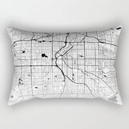 City Map Neck Gaiter Denver Colorado Neck Gator Rectangular Pillow