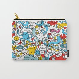 ON THE CLOUDS Carry-All Pouch