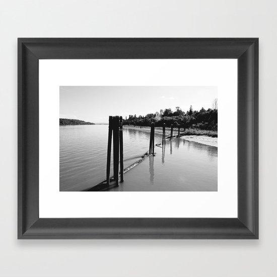 Pier 1 Framed Art Print