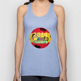 2014 World Champs Ball - Spain Unisex Tank Top