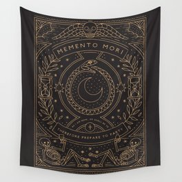 Memento Mori - Prepare to Party Wall Tapestry