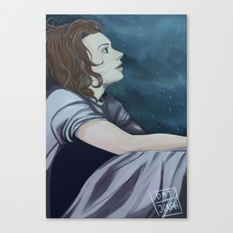 Harry The Stargazer  Canvas Print