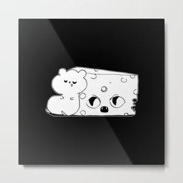 ▴ rat ▴ Metal Print