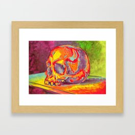 Hot Head Framed Art Print