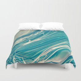 Neptune's Wild Ocean Duvet Cover