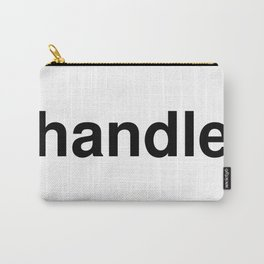handle Carry-All Pouch