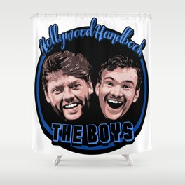 The Boys by STENZSKULL Shower Curtain