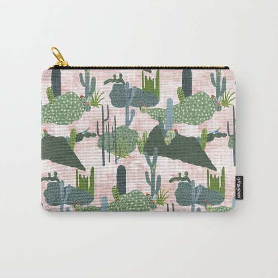 Cacti II  Carry-All Pouch