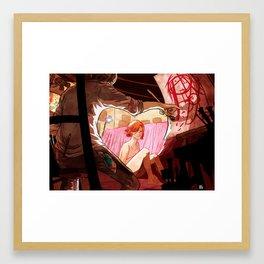 Get a muse! Framed Art Print