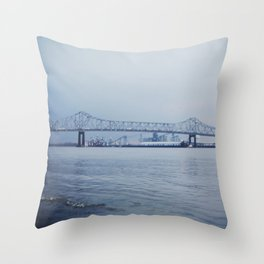 Baton Rouge Throw Pillow
