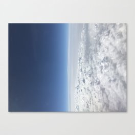 Huddled in Storms Just Some Shapeless Forms Canvas Print