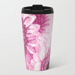 Pink Gerbera Travel Mug