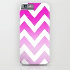 PINK CHEVRON FADE 2 iPhone 6s Slim Case