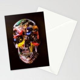 Hot Rod Skull Dark Stationery Cards
