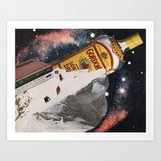 Al Fresco Ice Block Party Art Print