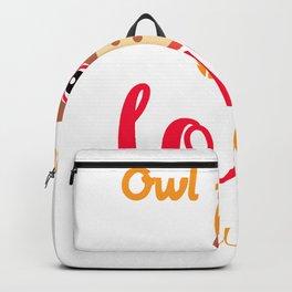 Owl Always Love Teaching Teacher Gift product Backpack