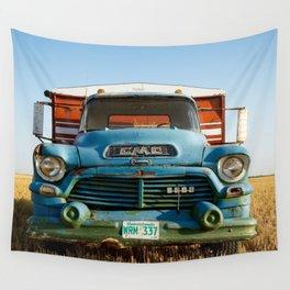 GMC Grain Truck 2 Wall Tapestry