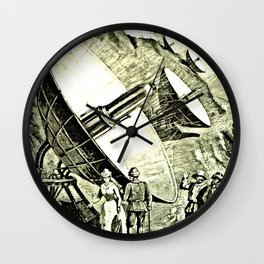 The Conquest of the Moon: a story of the Bayouda Wall Clock