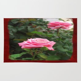 Pink Roses in Anzures 5  Blank P5F0 Rug