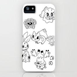 Pokemen  iPhone Case