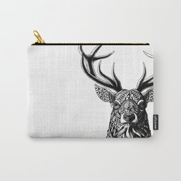 Ornate Buck Carry-All Pouch