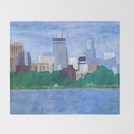 Calhoun Minneapolis Throw Blanket
